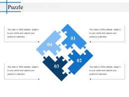 Puzzle Powerpoint Layout