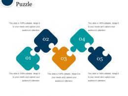 Puzzle Powerpoint Slide Backgrounds