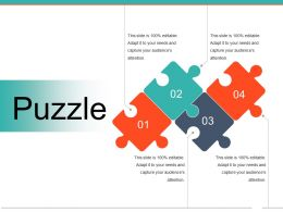 Puzzle Powerpoint Slide Backgrounds Template 1