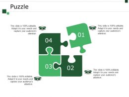 Puzzle Powerpoint Slide Deck Samples