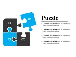 Puzzle Powerpoint Slide Deck Template