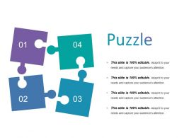 Puzzle Powerpoint Slide Design Templates