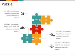 Puzzle Powerpoint Slide Designs