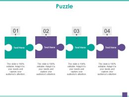 Puzzle Powerpoint Slide Designs Download