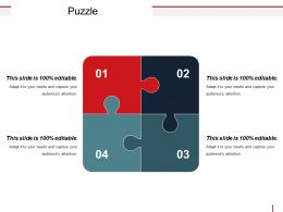 Puzzle Powerpoint Slide Download