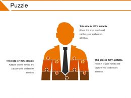 Puzzle Powerpoint Slide Presentation Examples