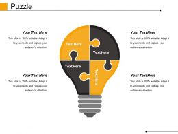 Puzzle Powerpoint Slide Presentation Guidelines