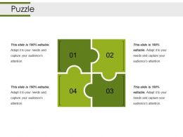 Puzzle Powerpoint Slide Presentation Guidelines Template 1