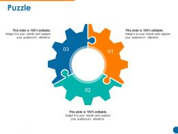 Puzzle Powerpoint Slide Template 1