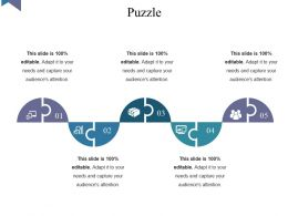 Puzzle Powerpoint Slide Template