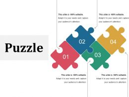 Puzzle Powerpoint Slides Template 1