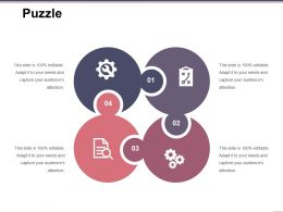 Puzzle Ppt Background Graphics