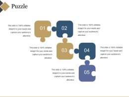 Puzzle Ppt Example Professional