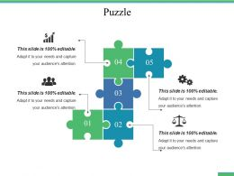 Puzzle Ppt File Graphics