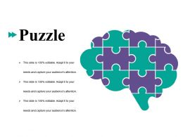 Puzzle Ppt Gallery Design Ideas