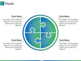 Puzzle Ppt Icon Skills