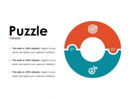 Puzzle Ppt Infographic Template