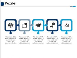 Puzzle Ppt Infographic Template Graphics Download
