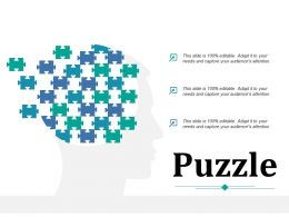 Puzzle Ppt Infographic Template Layout Ideas