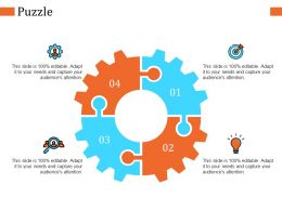 Puzzle Ppt Infographic Template Slide Download