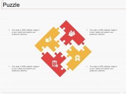 Puzzle Ppt Layouts Inspiration