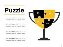 Puzzle Ppt Layouts Visual Aids