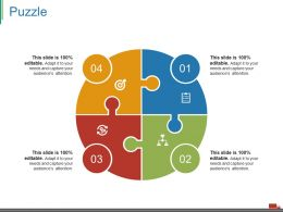 Puzzle Ppt Model