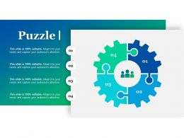 Puzzle Ppt Pictures Demonstration