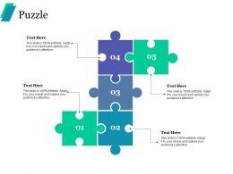 Puzzle Ppt Portfolio Background Designs