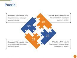 Puzzle Ppt Portfolio Gallery