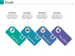 Puzzle Ppt Powerpoint Presentation File Information