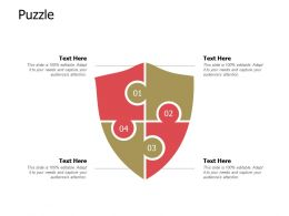 Puzzle Ppt Powerpoint Presentation Infographic Template Visuals