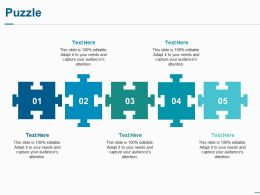 Puzzle Ppt Professional Designs Download
