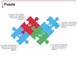 Puzzle Ppt Professional Templates