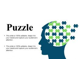Puzzle Ppt Samples Download Template 1