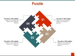 Puzzle Ppt Slide Examples