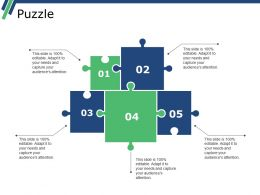 Puzzle Ppt Slide Templates