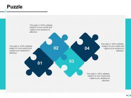 Puzzle Ppt Slides Deck