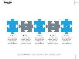 Puzzle Ppt Slides Design Inspiration