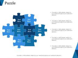 Puzzle Ppt Slides Download