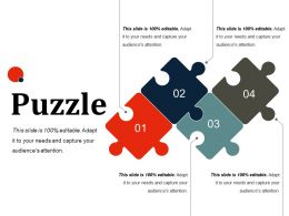 Puzzle Ppt Slides Layout