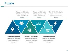 Puzzle Ppt Slides Outline