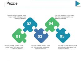 Puzzle Ppt Slides Themes
