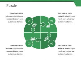 Puzzle Ppt Styles Show