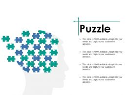 Puzzle Ppt Styles Slideshow