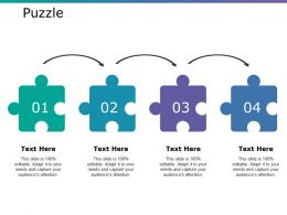 Puzzle Ppt Summary Designs