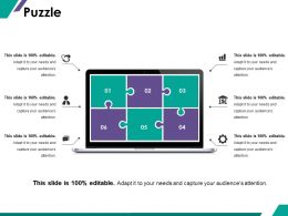 puzzle_ppt_summary_format_ideas_Slide01