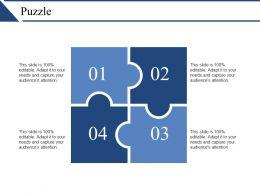 Puzzle Ppt Templates