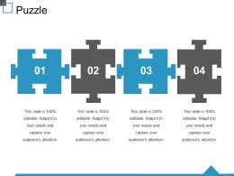Puzzle Ppt Visual Aids Professional