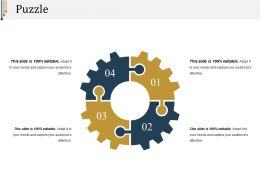 Puzzle Presentation Ideas